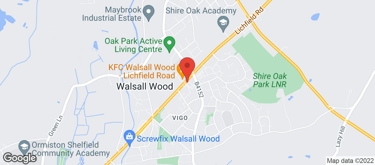 Better Gym Walsall Wood location and directions