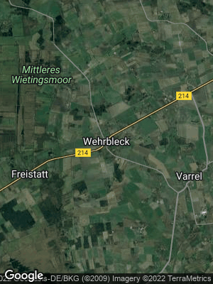 Google Map of Wehrbleck