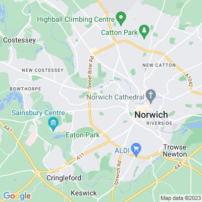 Norwich Cemetery Location