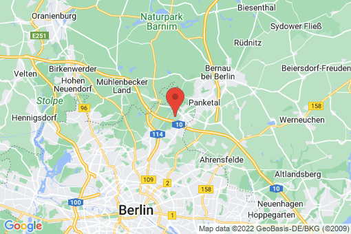 Karte Berlin-Karow