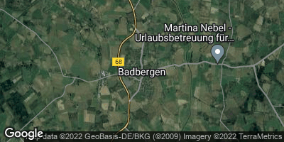 Google Map of Badbergen