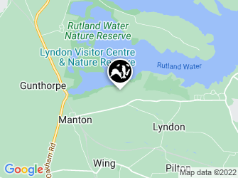 A static map of Lyndon Nature Reserve