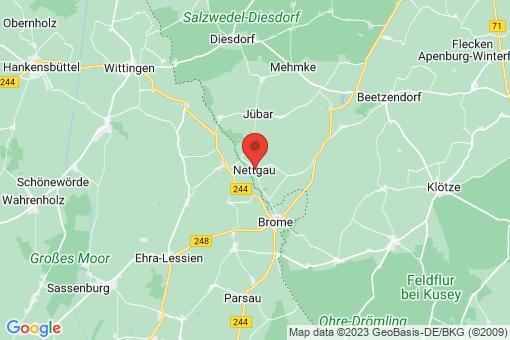 Karte Nettgau