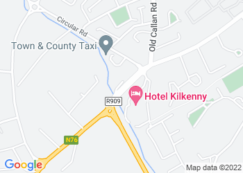 Map view of Kilkenny Vehicle Centre