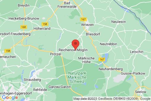 Karte Reichenow-Möglin Reichenow