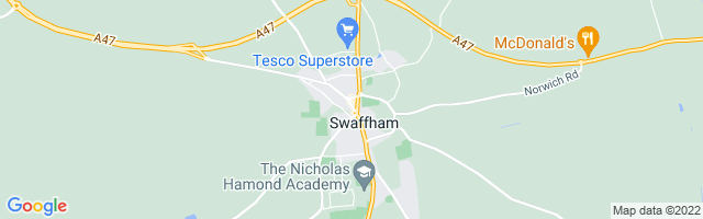 Map Of Swaffham