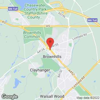 Map of wilko Brownhills at Wilko Unit 4, Brownhills,  WS8 6EQ