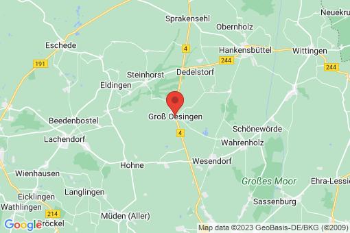 Karte Groß Oesingen