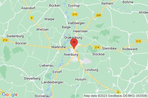 Karte Nienburg (Weser) Nienburg (Weser)