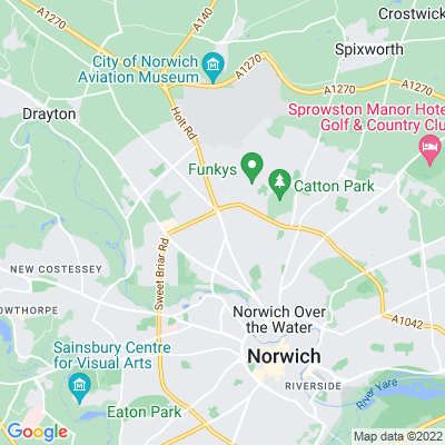 Mile Cross Gardens Location