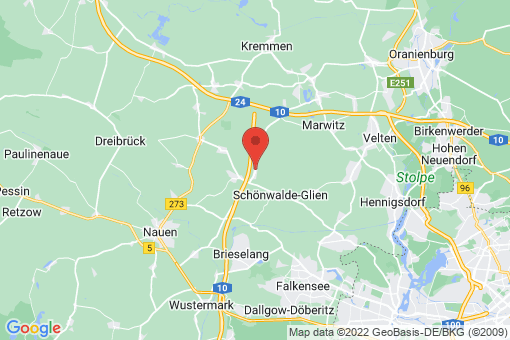 Karte Perwenitz