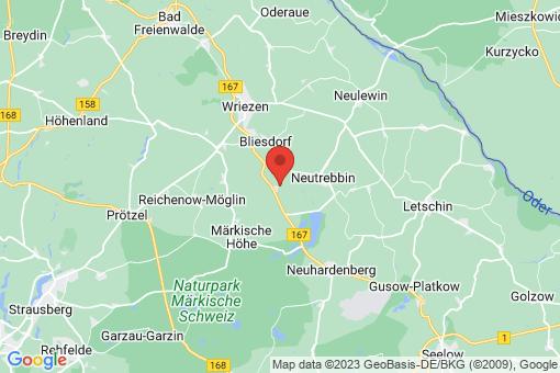 Karte Bliesdorf Metzdorf