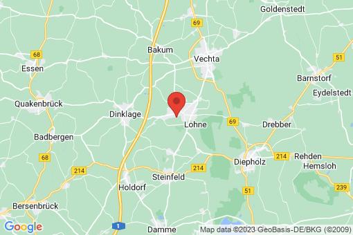 Karte Lohne (Oldenburg)
