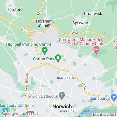 Catton Park, Norwich Location