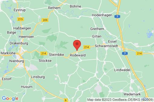 Karte Rodewald