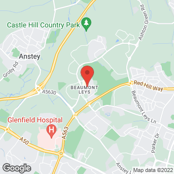 Map of wilko Beaumont Leys at Bourne Mall, Leicester, East Midlands LE4 1DH
