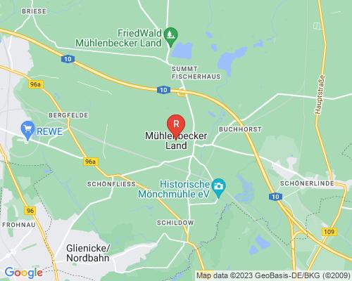 Google Karte von Rohrreinigung Mühlenbecker Land