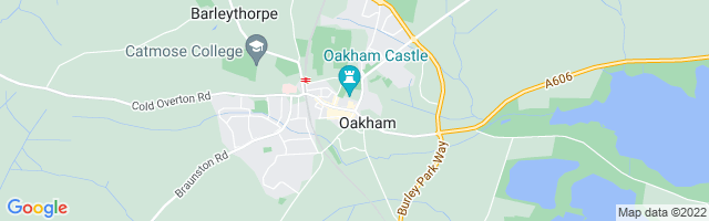 Map Of Oakham