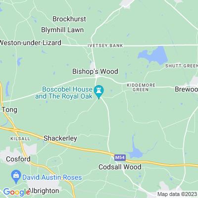 Boscobel House Location