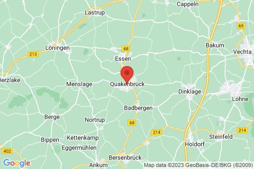 Karte Quakenbrück