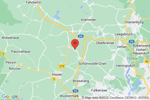 Karte Grünefeld