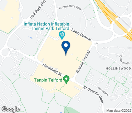 Map of 4-10 North Sherwood Street in Telford