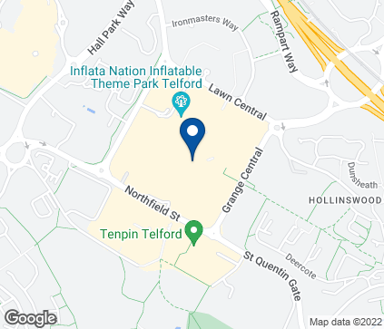 Map of 128 New Street in Telford
