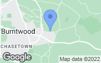 Map of Burntwood, Staffordshire