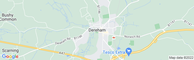 Map Of Dereham