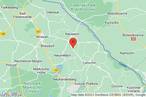 Karte Neutrebbin Altbarnim