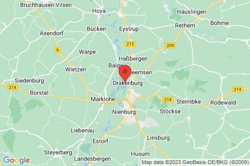 Karte Drakenburg