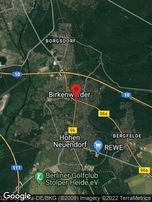 Google Map of Birkenwerder