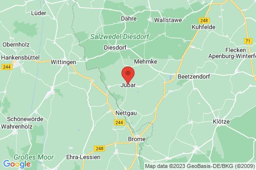 Karte Jübar