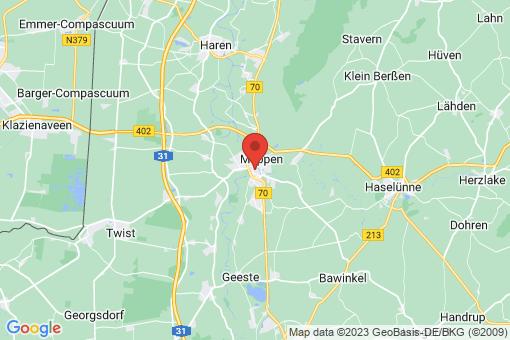 Karte Meppen