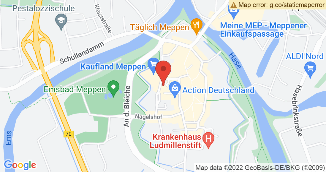 Google Map Sport Höfer Meppen