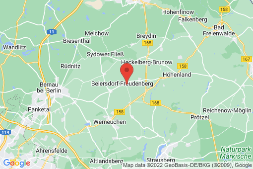 Karte Beiersdorf-Freudenberg Beiersdorf