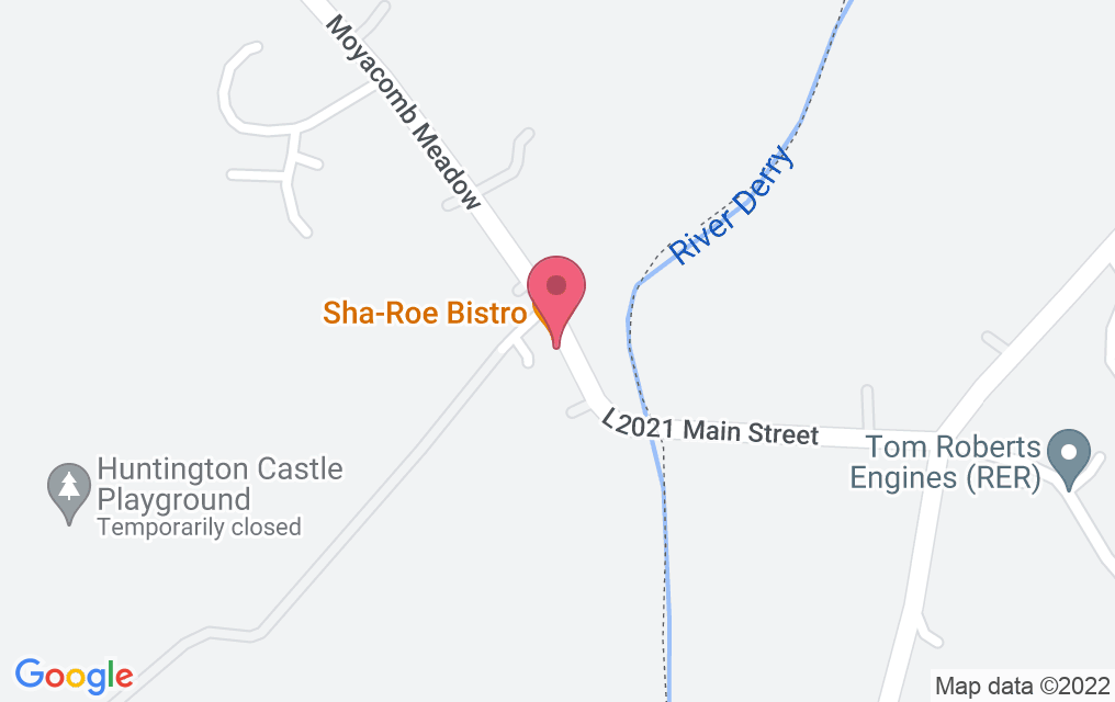 Get directions to Sha-Roe Bistro
