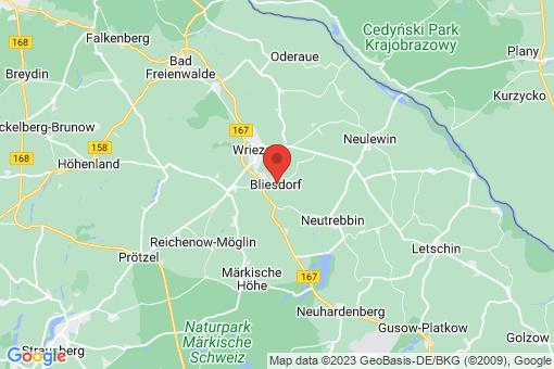 Karte Bliesdorf