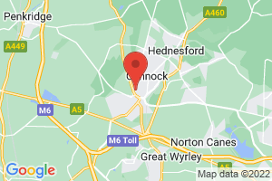 Cannock Chase Library on the map
