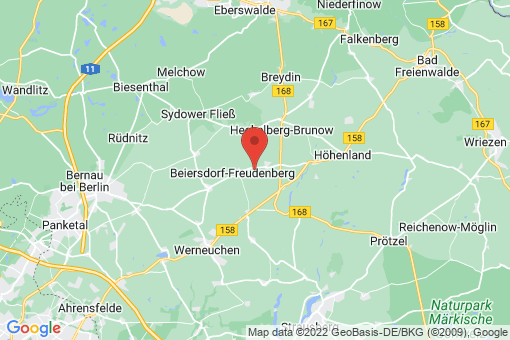 Karte Beiersdorf-Freudenberg