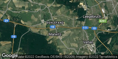 Google Map of Oberkrämer