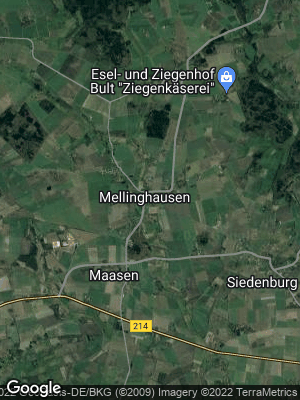 Google Map of Mellinghausen