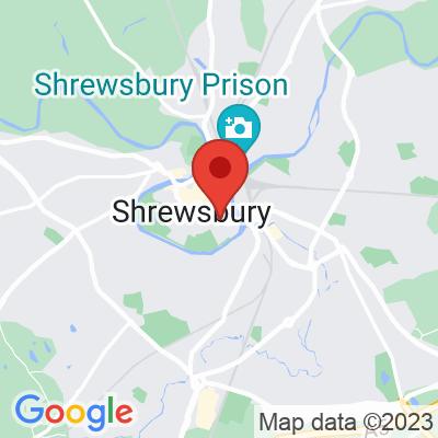 Map showing Caffe Figo Shrewsbury