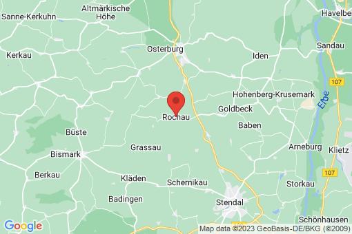 Karte Rochau