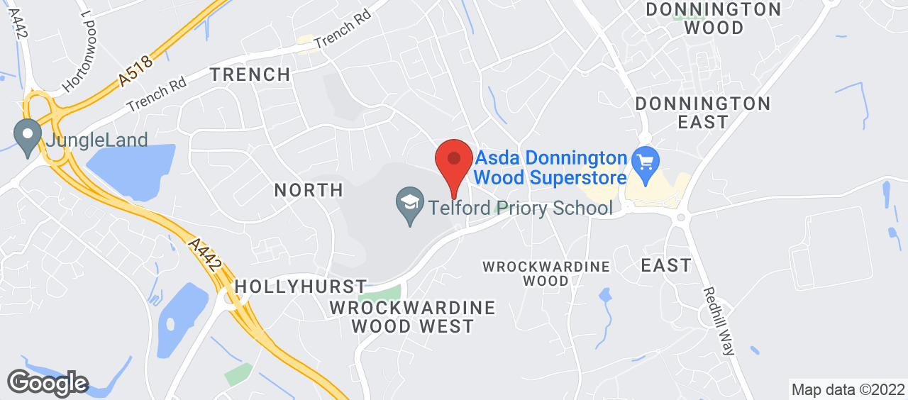 Telford Tennis Centre location and directions