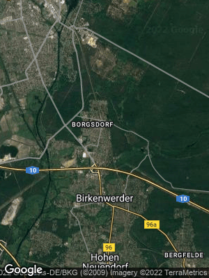 Google Map of Borgsdorf