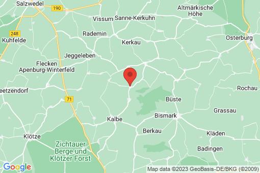 Karte Kahrstedt