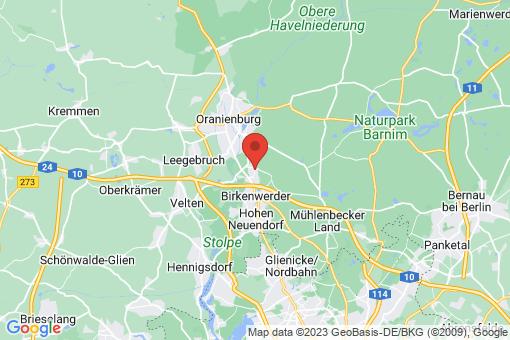 Karte Borgsdorf