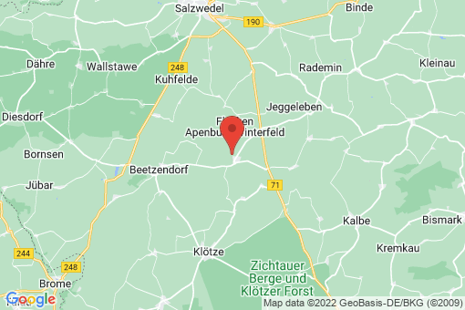 Karte Flecken Apenburg