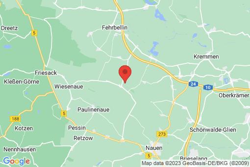 Karte Fehrbellin Königshorst